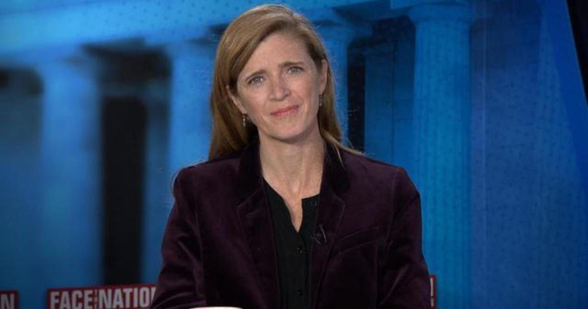 "Samantha Power on Climate Change: ""We've got to meet our commitments and then become much more ambitious"""