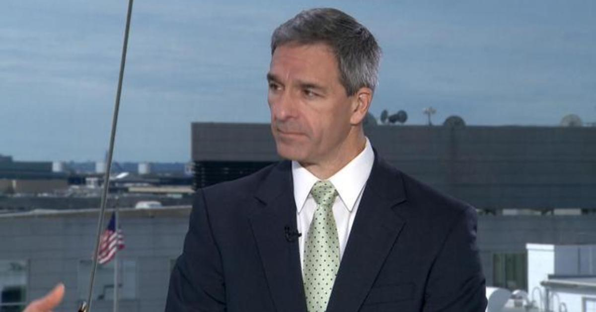 "Top Trump official Ken Cuccinelli says asylum restriction will be a ""deterrent"" for migrants"