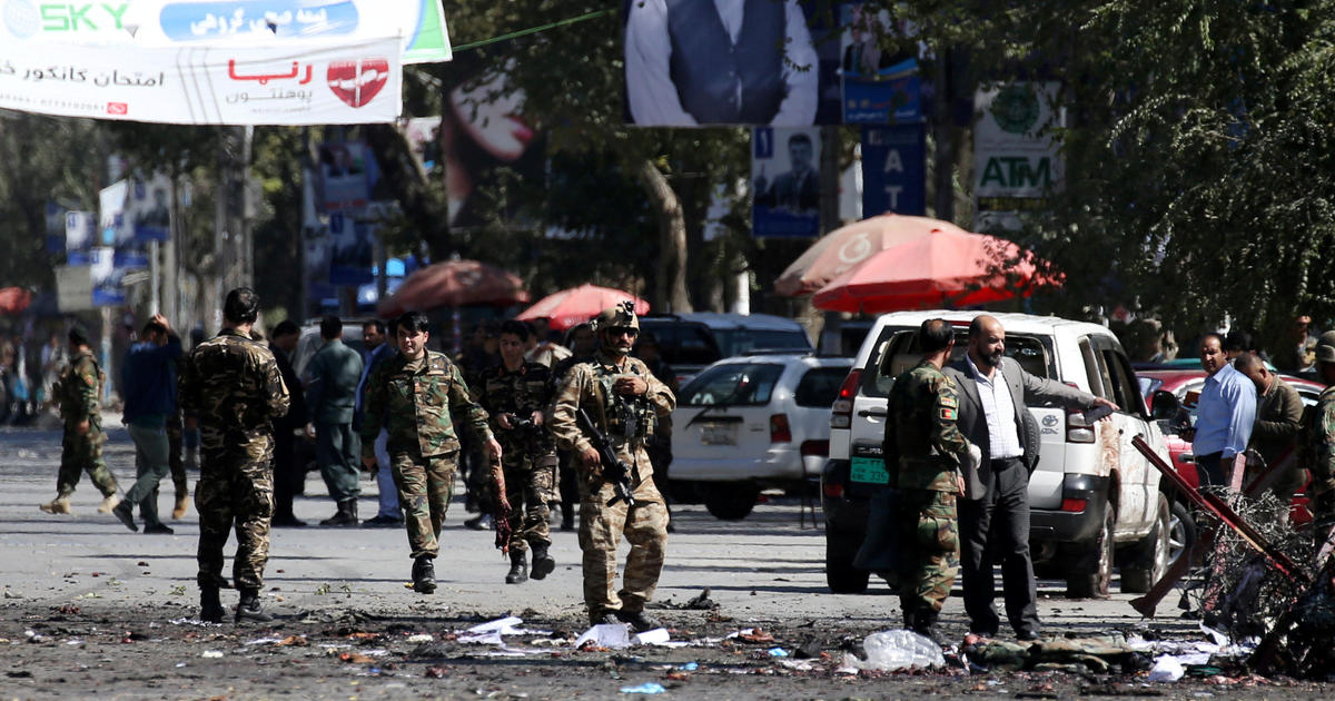 U.S. service member killed in Afghanistan as Taliban bombs leave dozens more dead