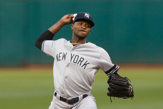 Yankees pitcher Domingo Germán placed on leave amid domestic violence investigation