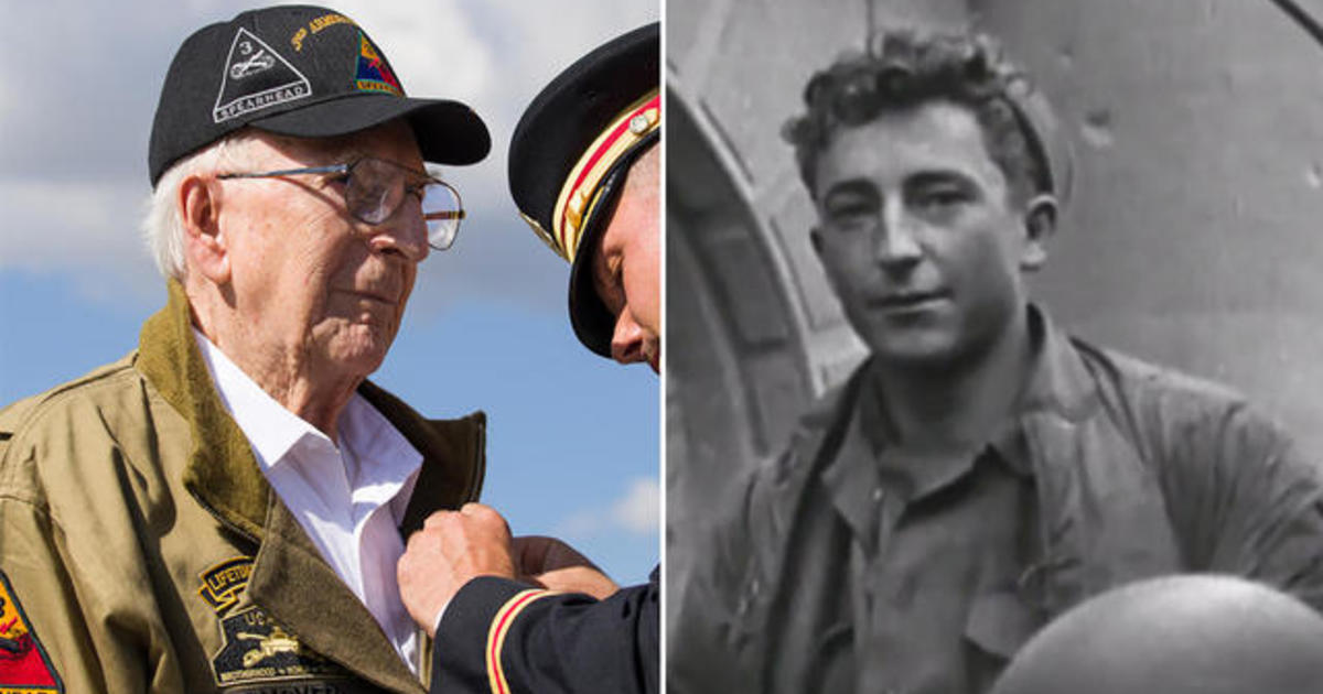 96-year-old WWII hero receives long-overdue honor
