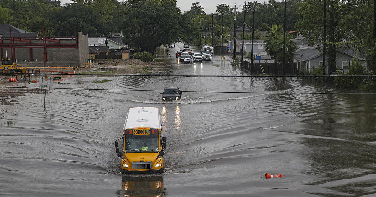 Imelda's rainfall is now 7 times more likely than 30 years ago