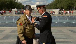 WWII vet Clarence Smoyer awarded Bronze Star