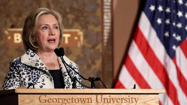 Georgetown University Hosts The Hillary Rodham Clinton Awards For Advancing Women In Peace And Security