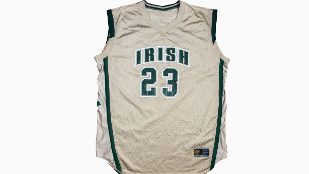 LeBron James' iconic St. Vincent-St. Mary high school basketball jersey is up for auction