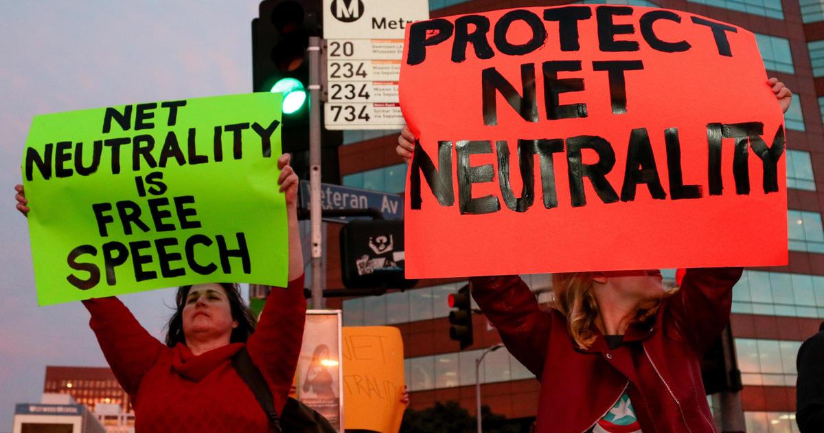 cbsnews.com - Federal judge rules California can enforce net neutrality law