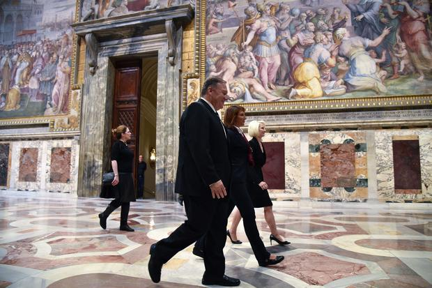 VATICAN-US-RELIGION-POLITICS-DIPLOMACY