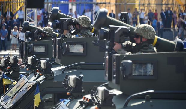 UKRAINE-INDEPENDENCE-DEFENCE-CELEBRATION