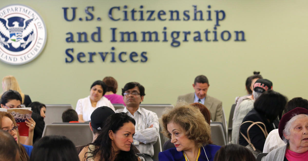 USCIS abandons mass employee furloughs that would've crippled immigration system – CBS News