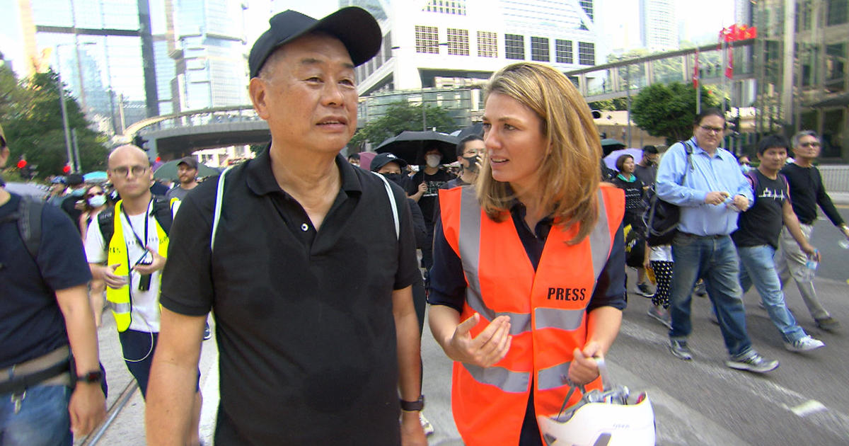 """60 Minutes"" reports: Who are the Hong Kong protesters?"