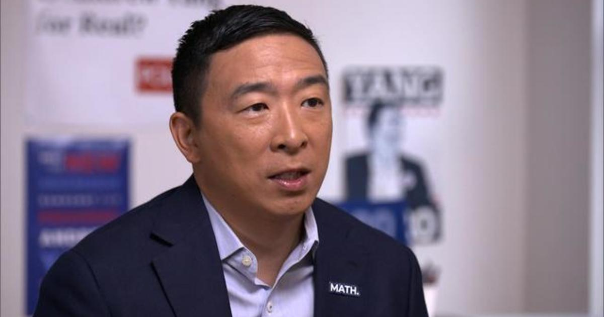 Andrew Yang on jobs, income, and his unlikely campaign