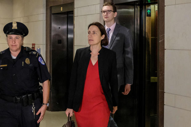 Former Trump Russia Advisor Fiona Hill Testifies Before House On Ukraine Inquiry