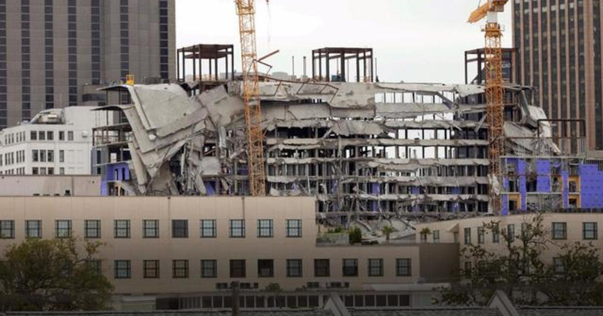 2 killed in New Orleans Hard Rock Hotel construction collapse