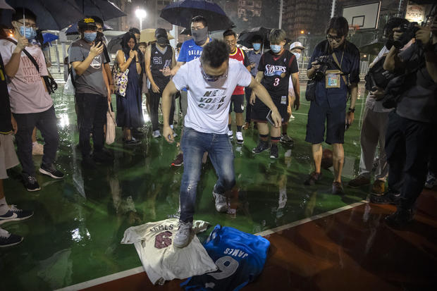 Hong Kong Protests James