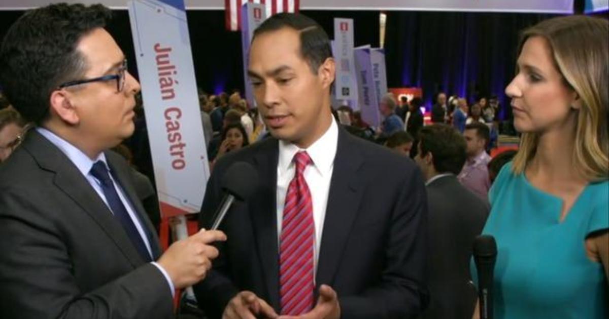 "Julián Castro: ""I never think I get enough time"" on debate stage"