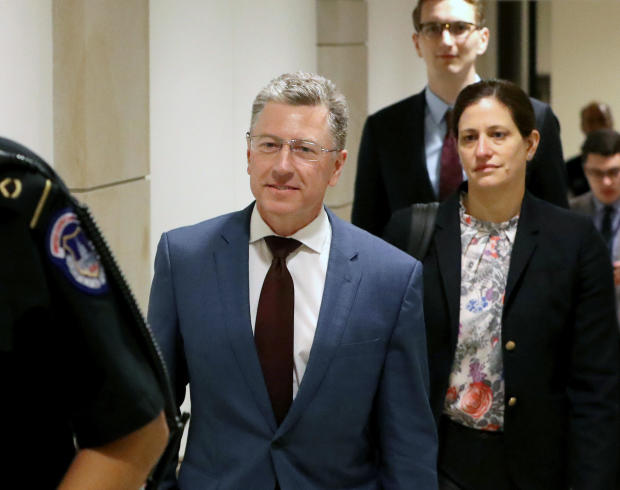 Former Ukraine Envoy Kurt Volker Returns For More Testimony On Capitol Hill