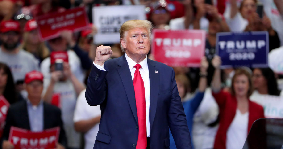 Trump rally Mississippi: Watch live stream as President Donald Trump rallies supporters in Tupelo, Mississippi thumbnail