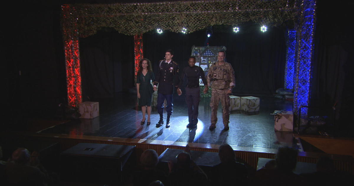 Retired Green Beret uses theater to help veterans cope with the trauma of war