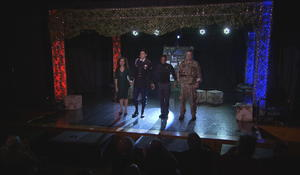 Green Beret uses theater to cope with the trauma of war