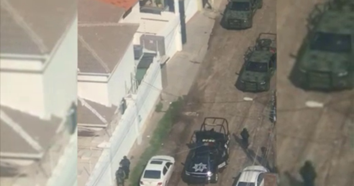 cbsnews.com - Mexican authorities locate son of 'El Chapo' after gunfight in Sinaloa state