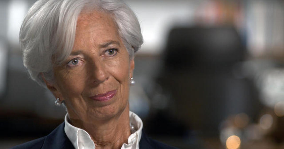 """President Trump's """"tweet here, or a tweet there"""" is no way to treat financial markets says Christine Lagarde"""