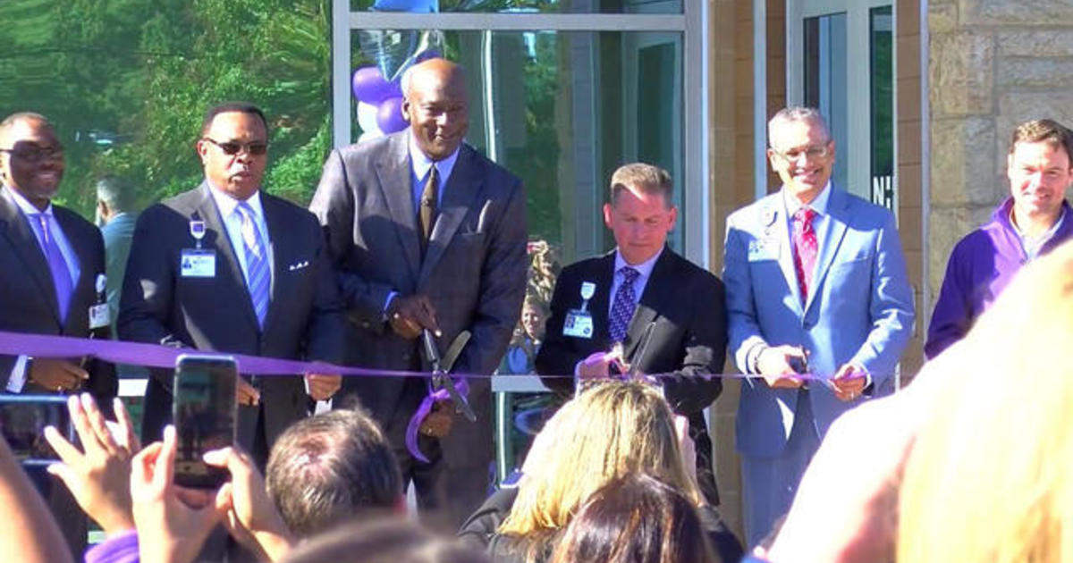 Michael Jordan opens clinic to serve underprivileged families