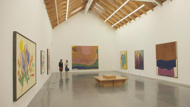 Helen Frankenthaler: An artist lost in the moment