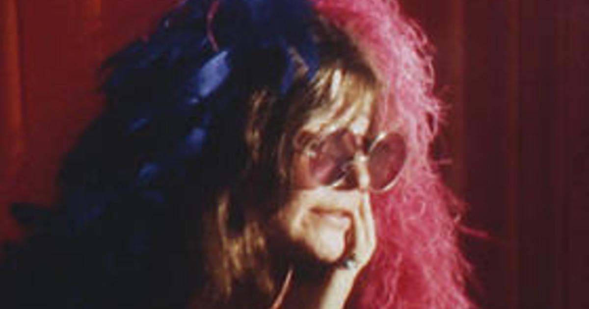 janis joplin in 1969 cbs promo.'