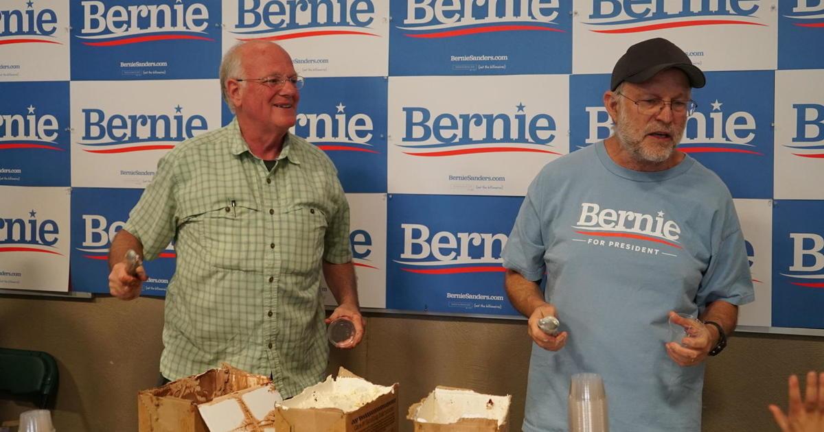 The inside scoop on two original Bernie Sanders surrogates: Ben & Jerry - CBS News
