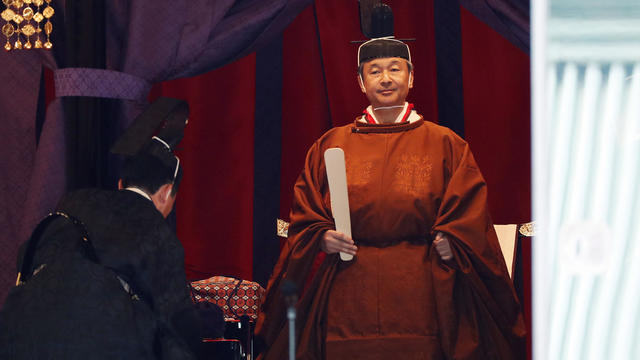 Enthronement Ceremony Of Emperor Naruhito In Japan