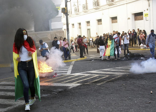 BOLIVIA-ELECTIONS-RESULTS-PROTEST