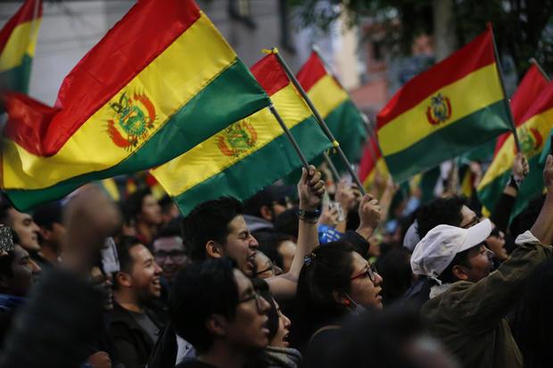 APTOPIX Bolivia Elections
