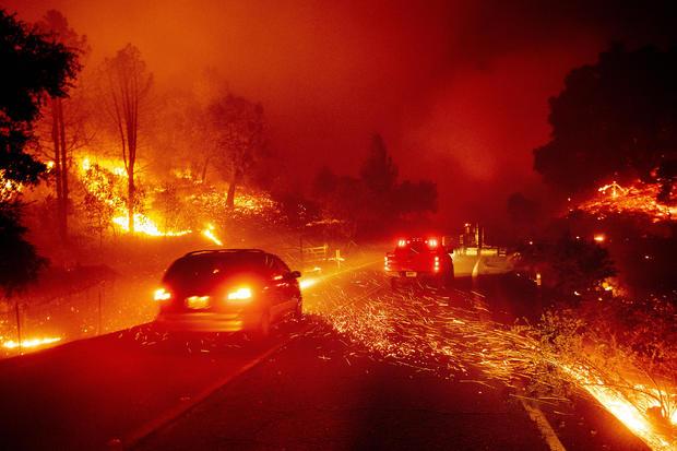 APTOPIX California Wildfires