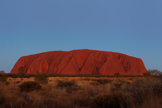 Tourists Flock To Uluru As Climbing Ban Approaches