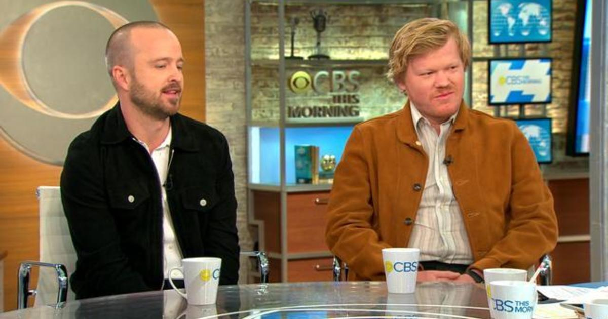 "Aaron Paul and Jesse Plemons talk ""Breaking Bad"" sequel film, ""El Camino"""