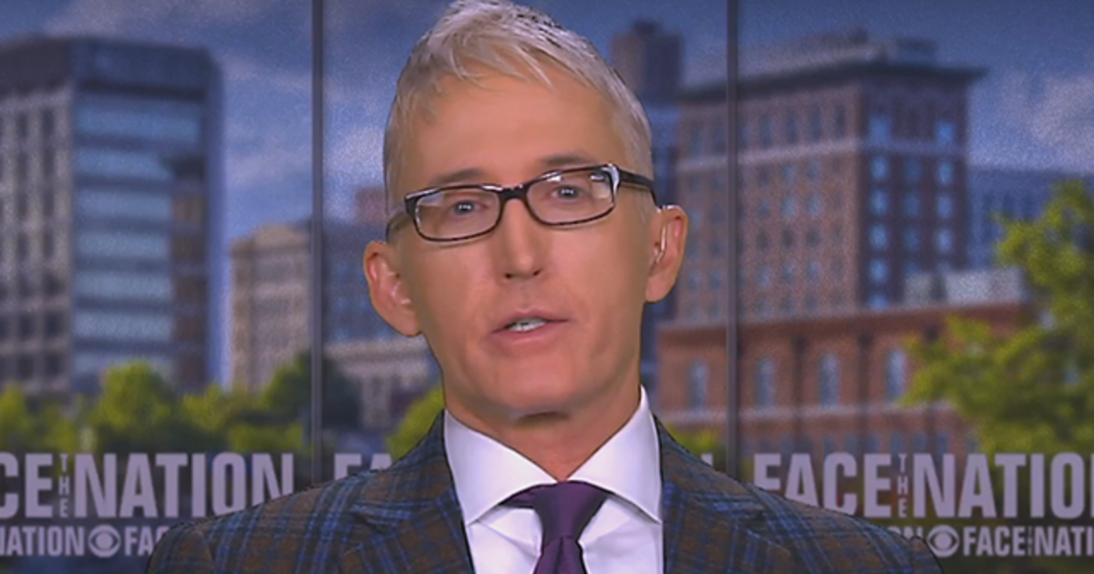 "Gowdy says Trump's demand for Ukraine's cooperation in 2016 probe ""can't be"" impeachable"
