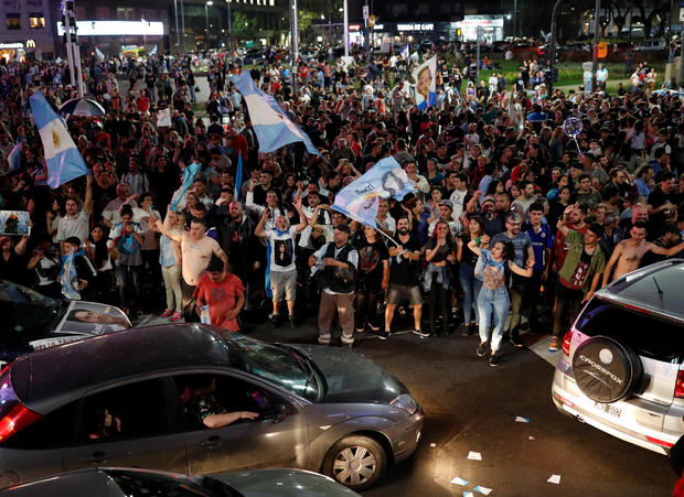 Alberto Fernandez wins general election in Argentina
