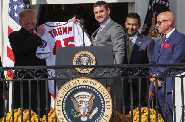Nationals visit Trump at White House