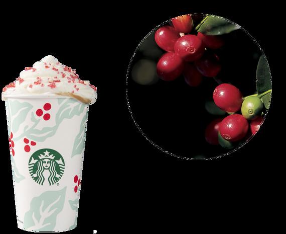 Starbucks seasonal cups through the years