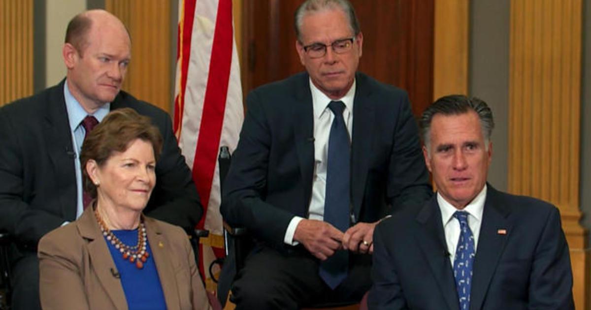 "Senators announce bipartisan climate caucus: ""We look a bit like Neanderthals"""