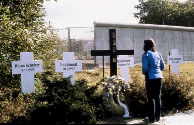 Germany Berlin Wall 1981