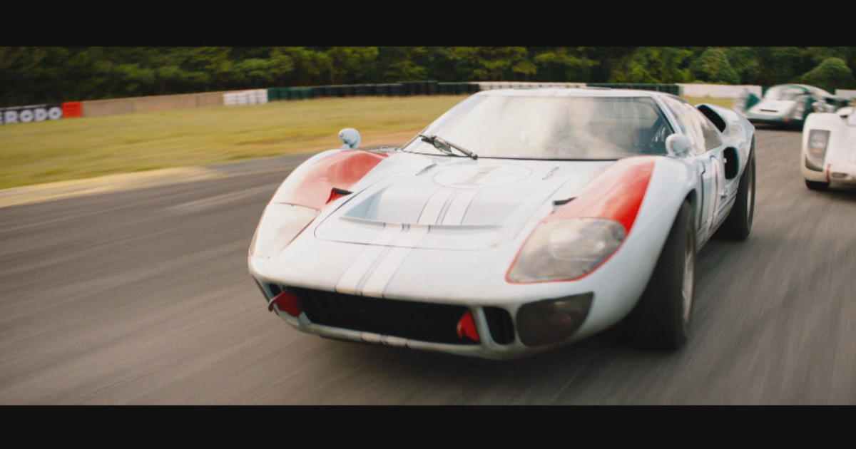 Ford V Ferrari Movie Greatest Car Racing Rivalry In History To Play Out On Big Screen Cbs News