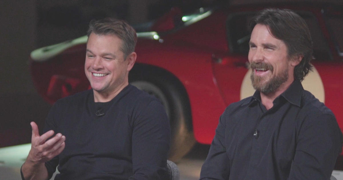 """Ford v. Ferrari"": Matt Damon and Christian Bale on a story of competition and friendship"