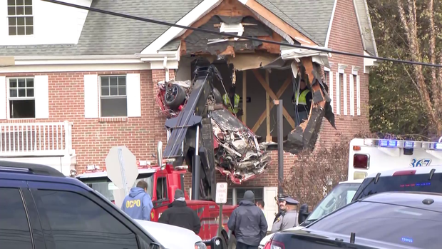 """How did this happen?"": 2 killed in sports car that crashed into building's 2nd story"