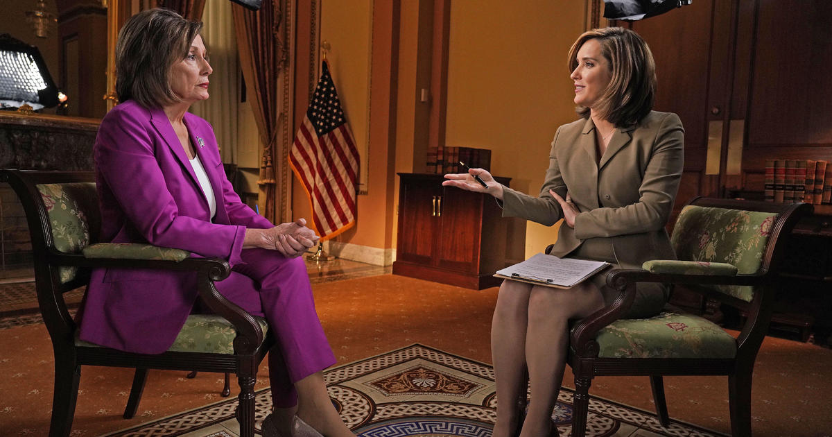 """Trump has """"every opportunity to present his case,"""" Pelosi says"""