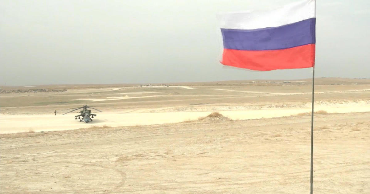 Russian troops take command of U.S. airbase in northern Syria