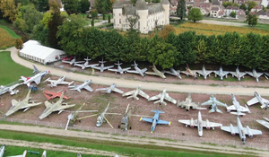France's Wine Country is home to collection of fighter jets