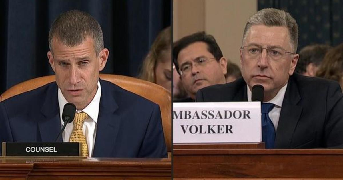 Volker says there was nothing unusual about hold on aid