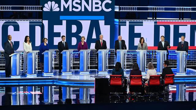 2020 Democratic debate — Atlanta