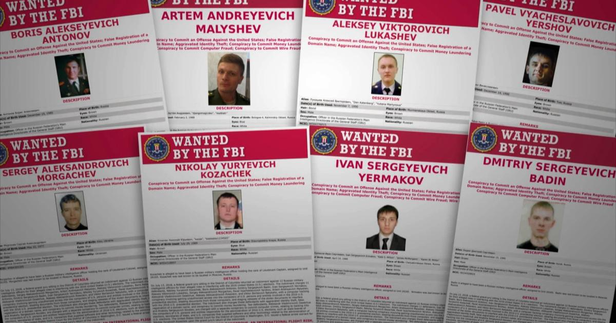60 Minutes reports on case against 12 Russian agents who interfered with 2016 election
